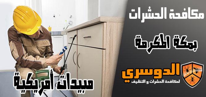 مبيدات أمريكية لمكافحة الحشرات في مكة المكرمة
